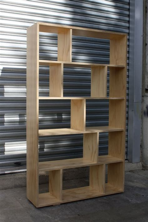 Diy Plywood Bookcase Plans