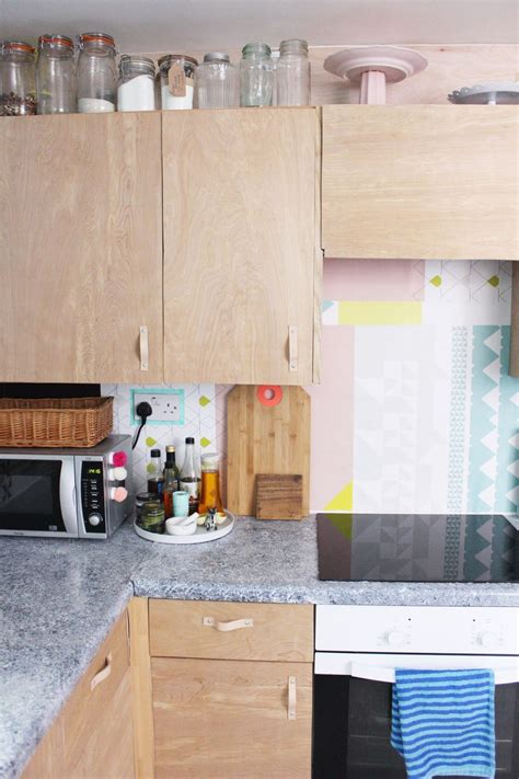 Diy Plywood Kitchen Cabinets Makeover