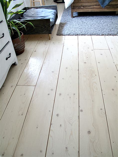 Diy Plywood Plank Flooring For Bedroom