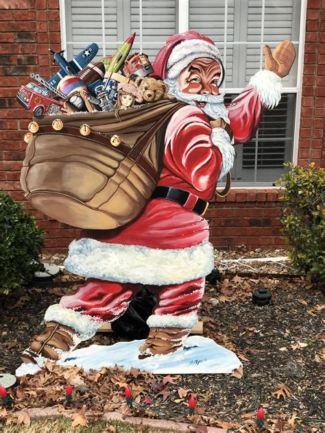 Diy Plywood Santa