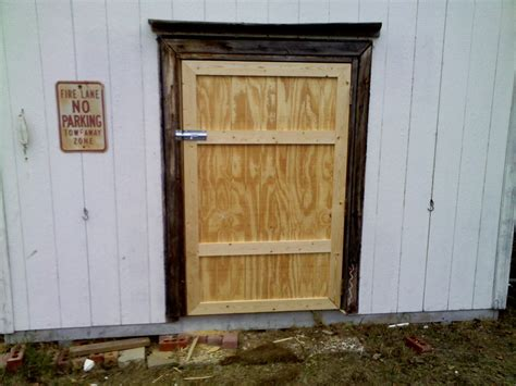Diy Plywood Shed Doors