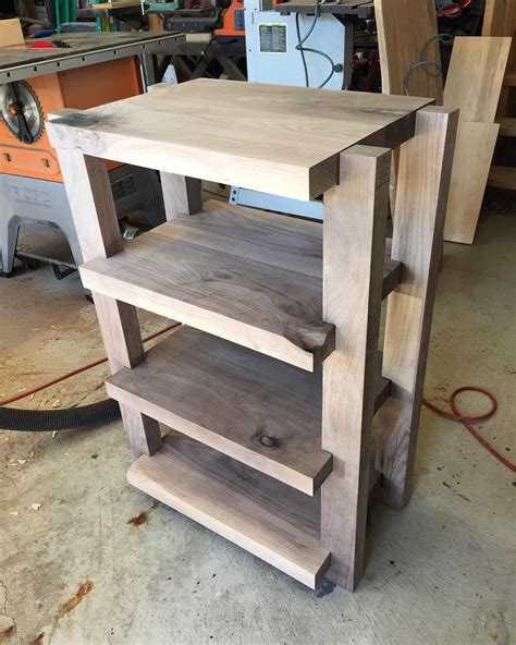 Diy Plywood Stereo Rack Systems