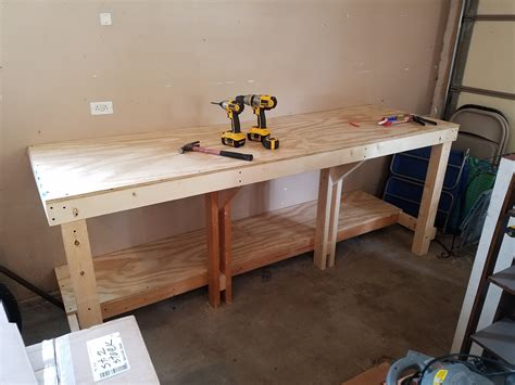 Diy Plywood Workbench Top