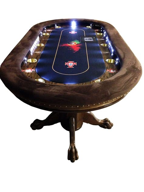 Diy Poker Table Led Lights