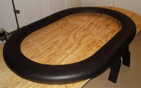 Diy Poker Table Rail Vinyl