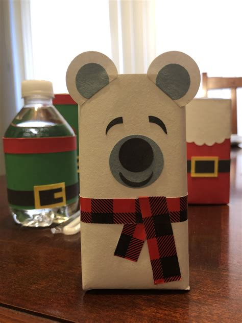 Diy Polar Bear Juice Boxes