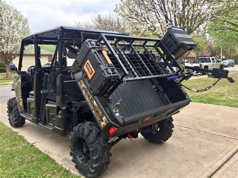 Diy Polaris Ranger Bed Seat Rack