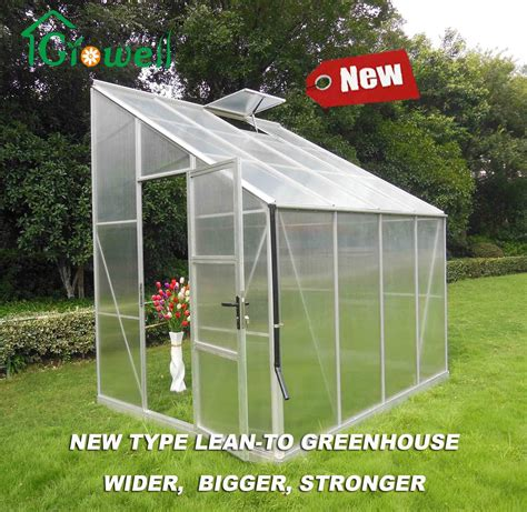 Diy Polycarbonate Lean To Greenhouse