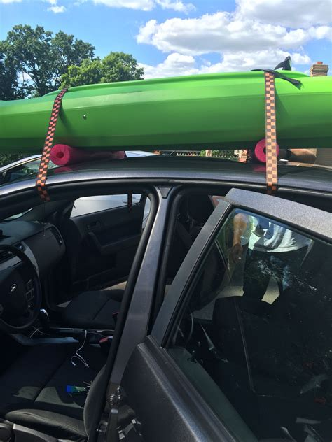 Diy Pool Noodle Roof Rack