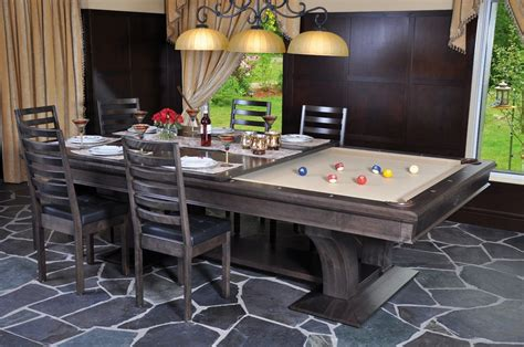 Diy Pool Table Dining Top