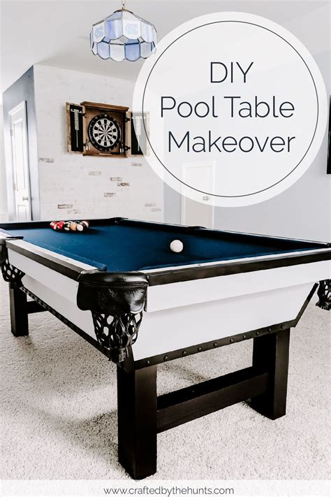 Diy Pool Table Makeover With Steel