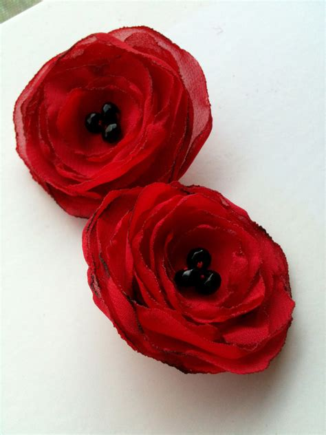 Diy Poppy Clips