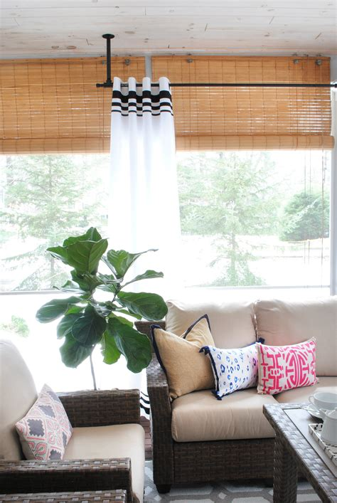 Diy Porch Curtains