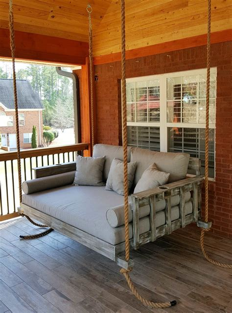 Diy Porch Swing Beds