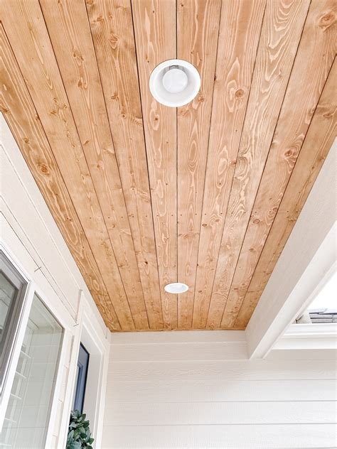 Diy Porch Wood Ceiling