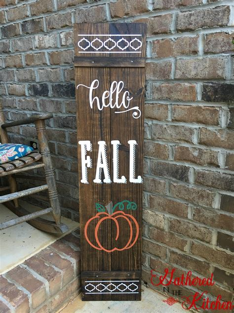 Diy Porch Wood Sign