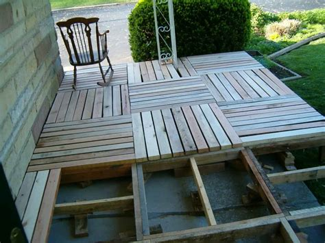 Diy Porches Wood