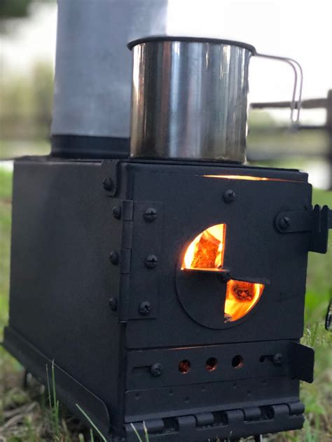 Diy Portable Ammo Can Wood Stove