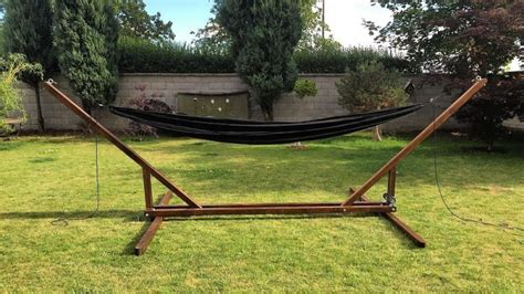 Diy Portable Hammock Stand Plans