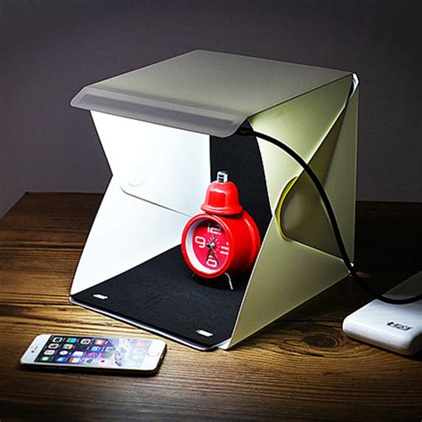 Diy Portable Led Studio Photo Box