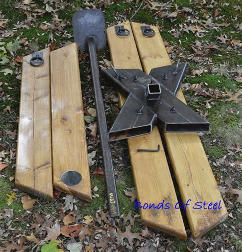 Diy Portable St Andrews Cross Plans