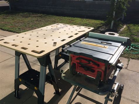 Diy Portable Table Saw Table