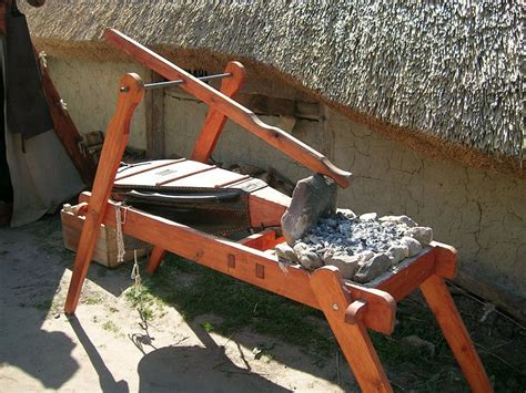 Diy Portable Viking Coal Forge With Bellows