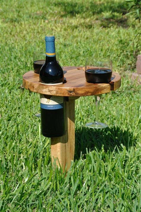 Diy Portable Wine Table