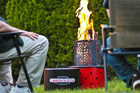 Diy Portable Wood Campfire Pit
