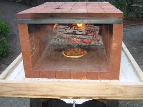 Diy Portable Wood Fired Pizza Oven