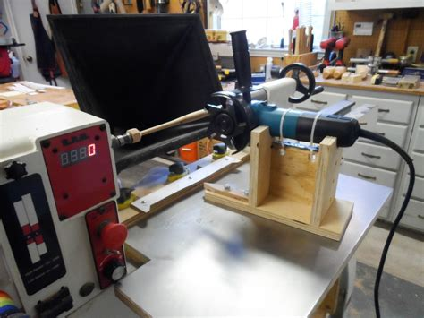 Diy Portable Wood Surface Duplicator Lathe