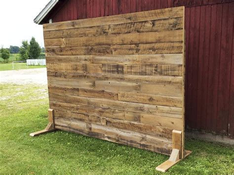 Diy Portable Wood Wall For Backdrop Curtains