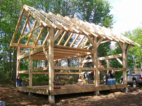 Diy Post And Beam Cabin Plans