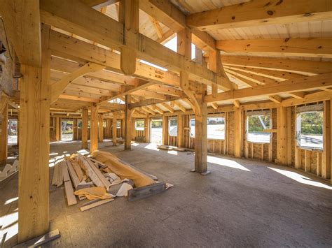 Diy Post And Beam Construction Timber Frame