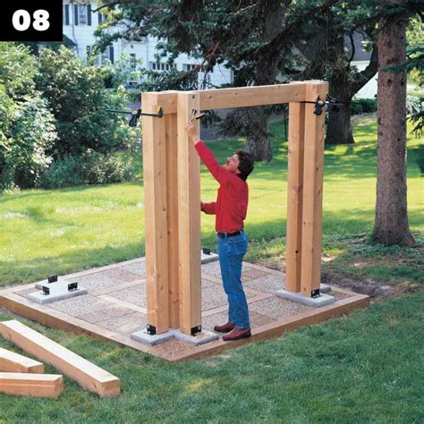 Diy Post And Beam Pavilion