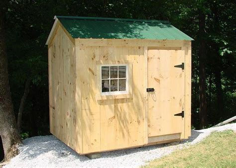 Diy Post And Beam Shed 6x8