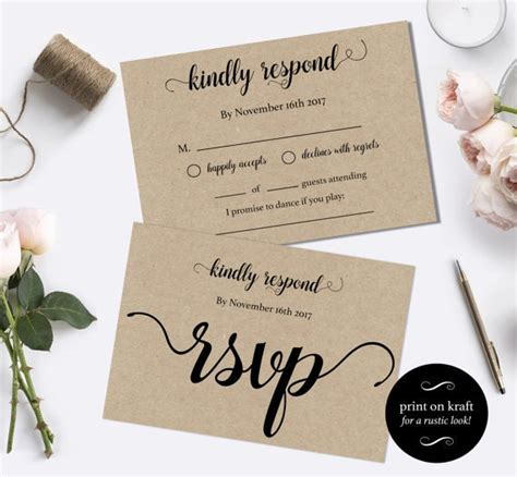 Diy Postcards For Rsvp