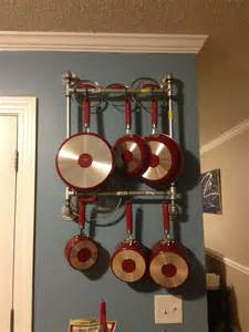 Diy Pot Rack Pipe