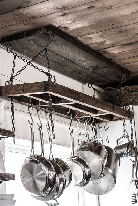 Diy Pot Rack That Fits Inside Window Frame