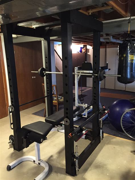 Diy Power Rack Safety Bars