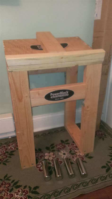 Diy Powerblock Dumbbell Stand