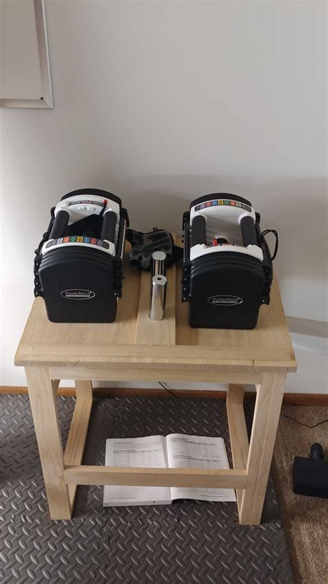 Diy Powerblock Wood Dumbbell Stand