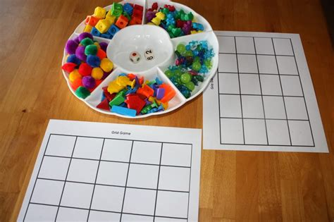 Diy Preschool Number Games