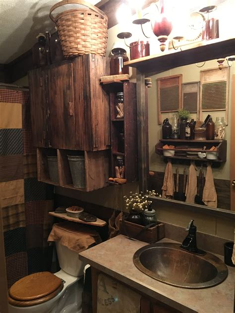 Diy Primitive Bathroom Decor