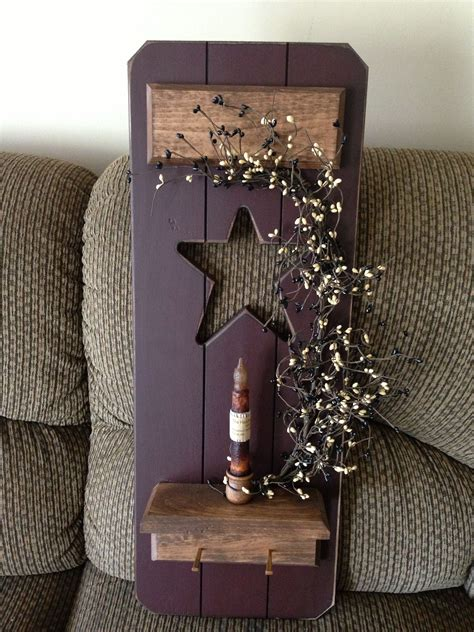 Diy Primitive Craft Ideas On Pinterest