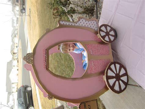 Diy Princess Carriage Table