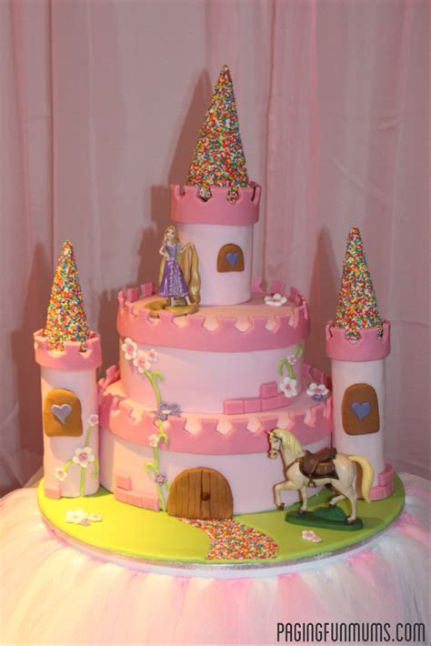 Diy Princess Castle Cakes