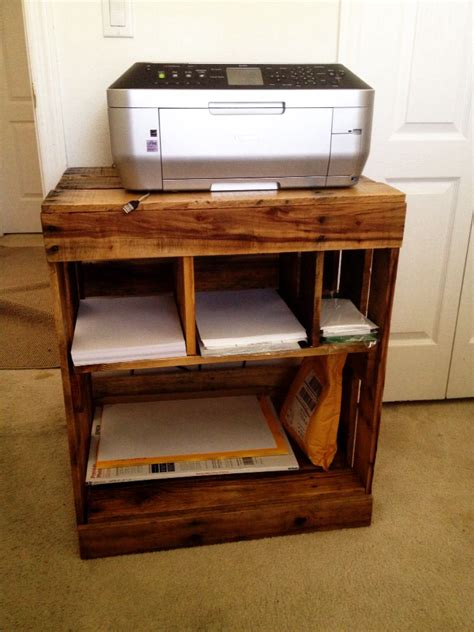 Diy Printer Stand Ideas