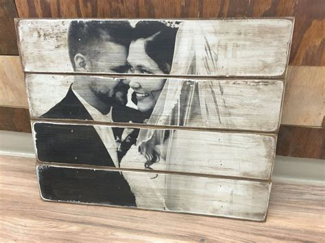 Diy Printing Photos On Wood