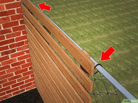Diy Privacy Chain Link Fence